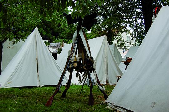 Battle of Waterloo Reenactment - Photo:  Richard-Yves Storm