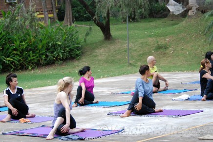 Yoga in Kairali9