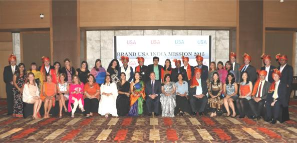 Brand USA 4th India Mission Delegation