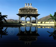 Black Marble Swimming Pool in the fort