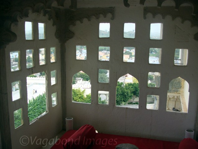 View from the Gokhras close to a sitting area!