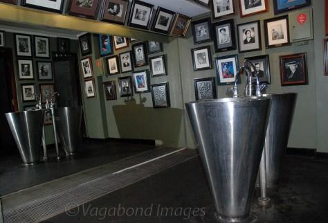 The gentlemen's washroom at Cafe Batavia