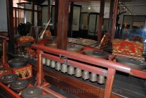 Banten Gamelan is an gamelan orchestra of the Javanese origin comprising of different traditional musical instruments. This instrument has its own unique musical sound.