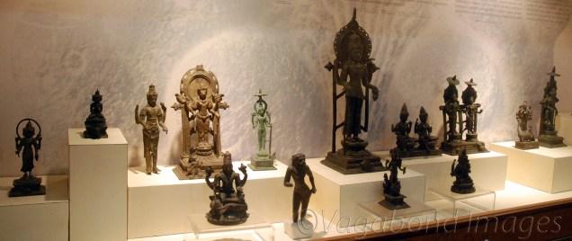 Bronze statues of different Hindu Gods