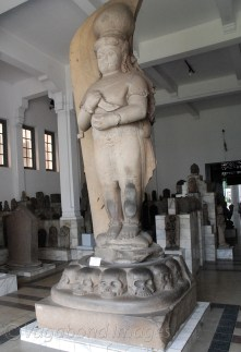 One of the grandest statue in the museum is this four metre tall Bhairav Buddha - a combined embodiment of Buddha as well as Bhairav. This is said to be the statue of King Adityavarman, a great Sumatran king.