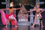 Rama fighting the Rahwana