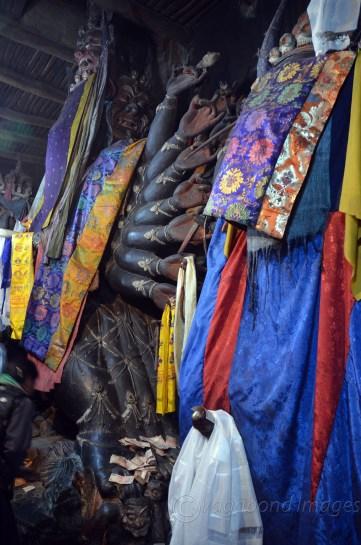 Protector deity temple