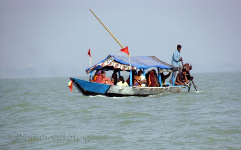 Local people going places in Chilika