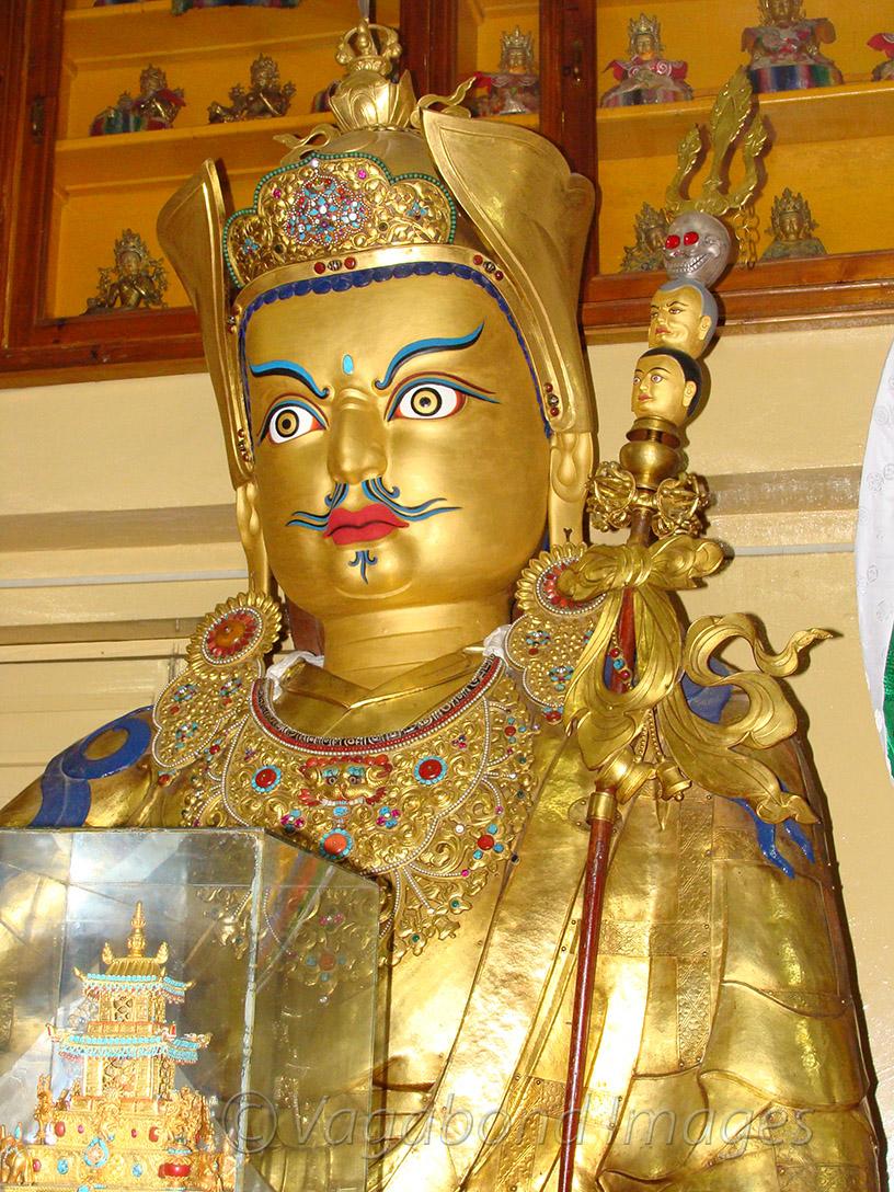 Padmasambhava statue at temple