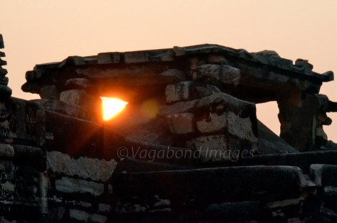 Sunset at Neelkanth Temple