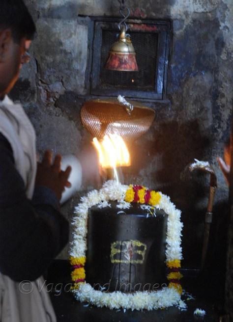 Sanctum sanctorum of the Neelkanth temple