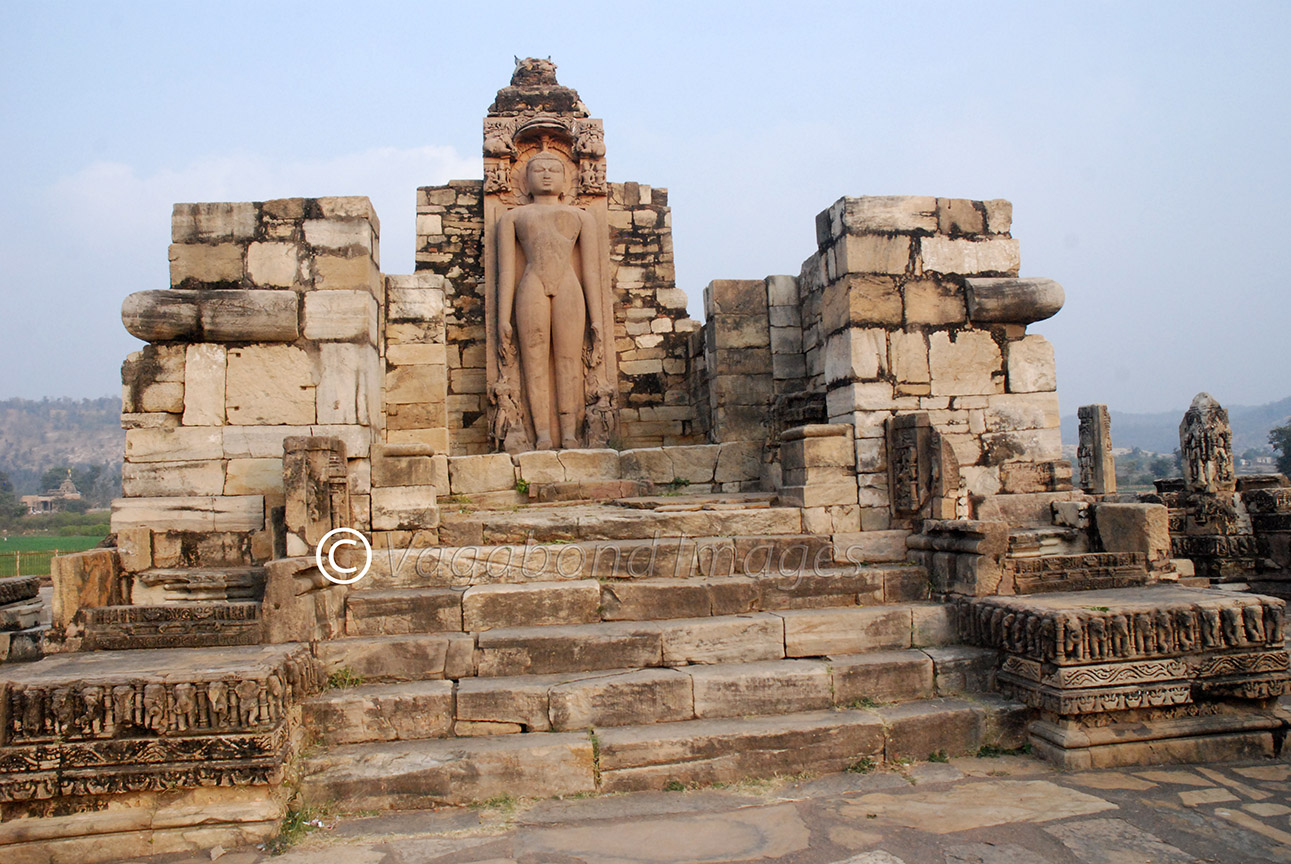 remains of the main temple
