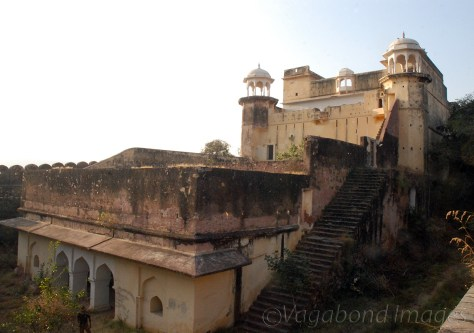 Stairs to go up the fort