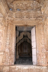 Entrance to one of the temples
