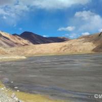 Lonely at mighty Baralacha La pass!