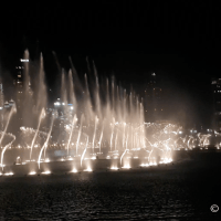 Water and Fire at the greatest fountain show!