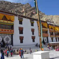 Photo tour of Hemis on the eve of Tsechu festival