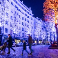 When a city gets illuminated: Bright Brussels