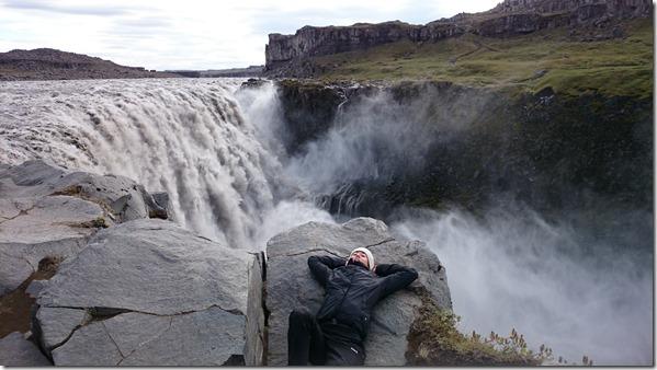Dettifoss au nord de l'Islande