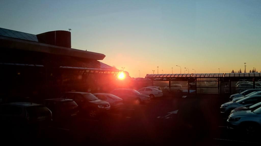 Soleil de minuit en Islande