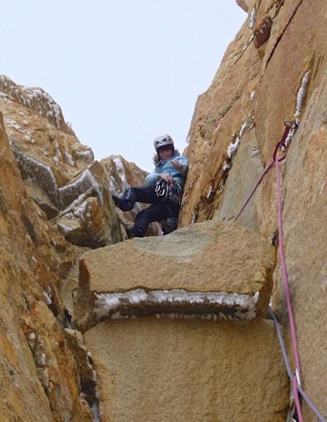 Chili-Torres del Paine - voie Bonnigton