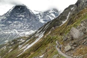 Walking from Mannlichen to Kleine Scheidegg