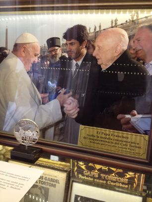 Pope Francis -Cafe Tortino