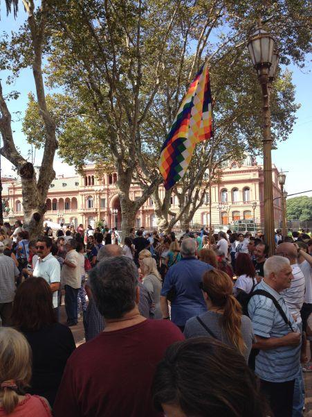 BA - Demonstration at Casa Rosada