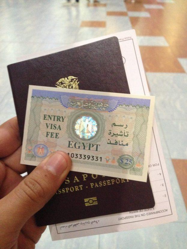 Resultado de imagen para visa egipto