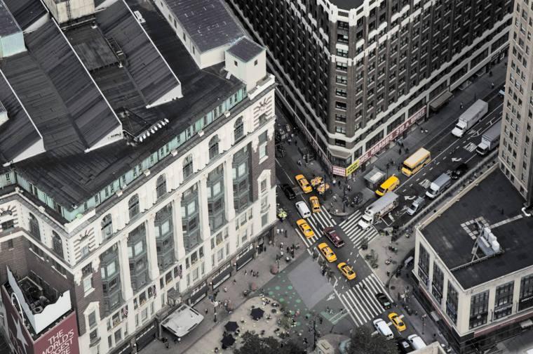 MANHATTAN (NUEVA YORK) DESDE UN RASCACIELOS