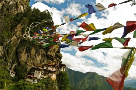 El Nido del Tigre en Bután - Tigernest in Bhutan