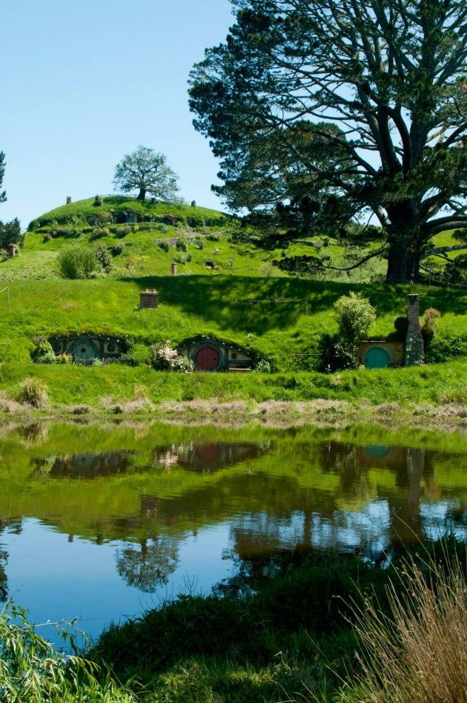 """Hobbiton, lugar de rodaje de """"El Señor de los Anillos"""" y """"El Hobbit"""" en Nueva Zelanda"""