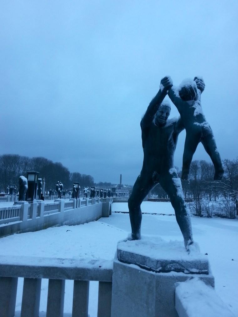Parque de esculturas de Vigeland, Oslo