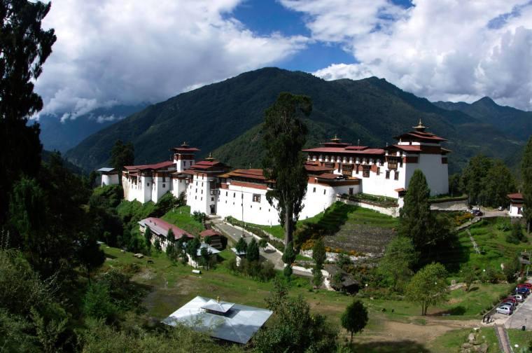 Dzong de Trongsa, el más grande de Bután