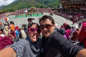 En el Timbu Tshechu (Festival), Bután