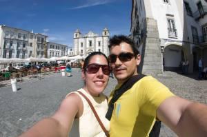 En Évora, Portugal