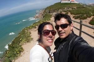 En el Cabo de San Vicente, Portugal