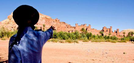 Ksar Ait Ben Hadu en Marruecos