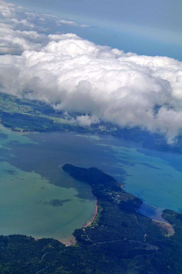 Aterrizando en Auckland
