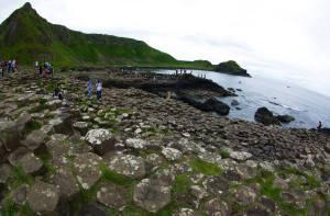 The Giant's Causeway es una de las principales atracciones turísticas en Irlanda del Norte