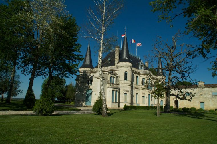 El mítico Chateau Palmer, en nuestro recorrido en coche