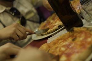 Pizza en Napoles