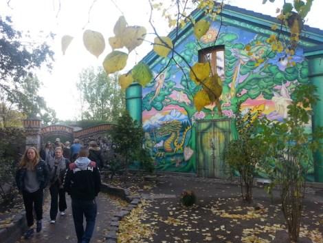 Entrada a la ciudad libre de Christiania