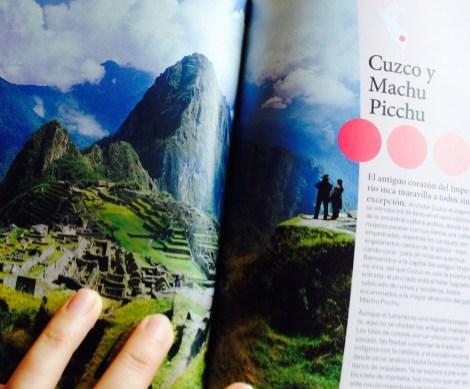 Capítulo dedicado a Cuzco y Machu Picchu en la Lonely Planet