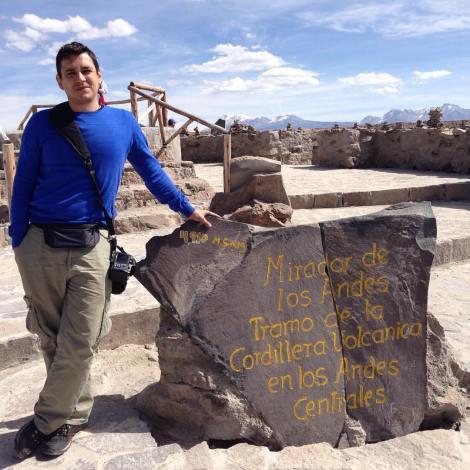 Camino del Valle del Colca, entre volcanes y gran altura, como este mirador a 4.900 metros