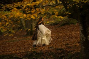La belleza del hayedo de Otzarreta en Euskadi hace que sea escenario también de reportajes fotográficos de boda
