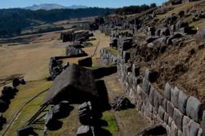 Los restos de Sacsayhuamán, en Cuzco, Perú, dan idea de lo grandioso que fue este recinto de Cuzco durante el Imperio Inca