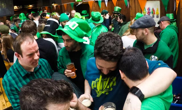La fiesta de San Patricio es ¡verde!