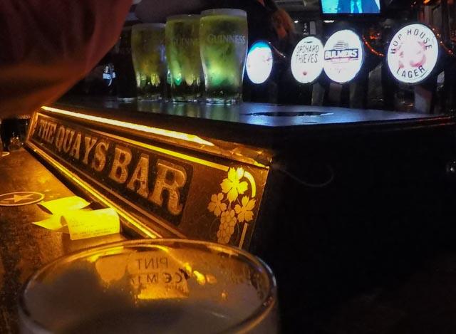 La Guinness es la bebida oficial de San Patricio en Dublín