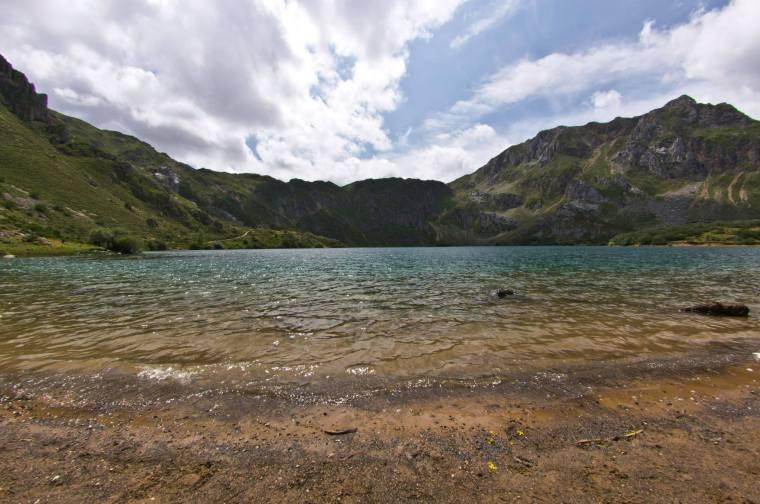 El Lago del Valle en el Parque de Somiedo, Asturias